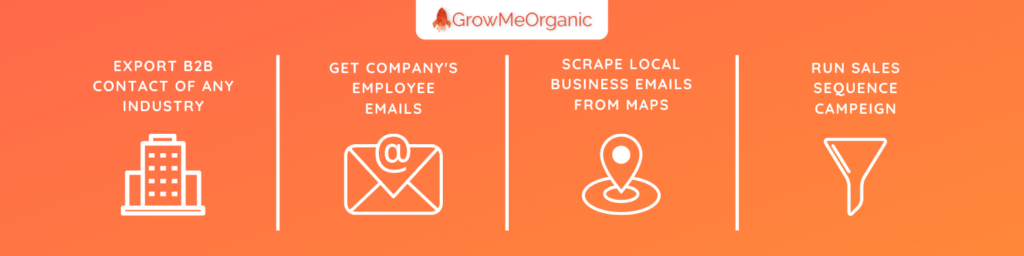 Find emails From Any Industry