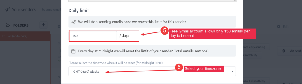 How do I use my Gmail account to send emails with GrowMeOrganic? 6