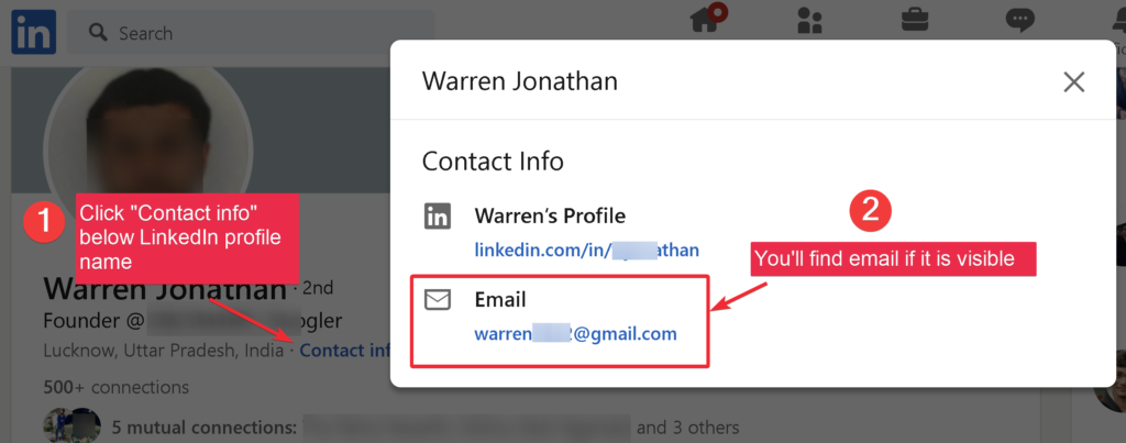 Manually Email Extraction