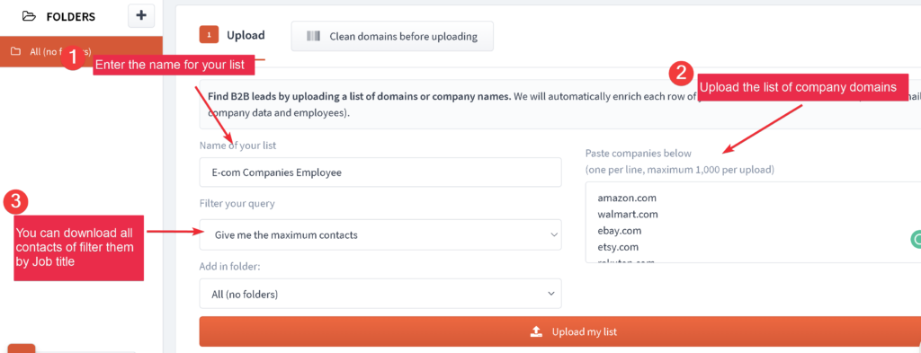 GrowMeOrganic Hack: Turn the list of companies names into emails 5